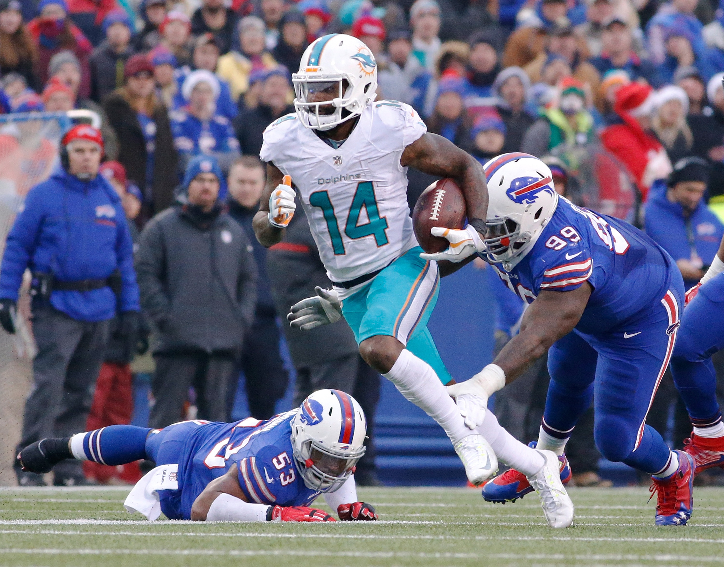 Top 10 Dolphins wide receivers